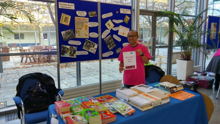 Volunteering with October Books